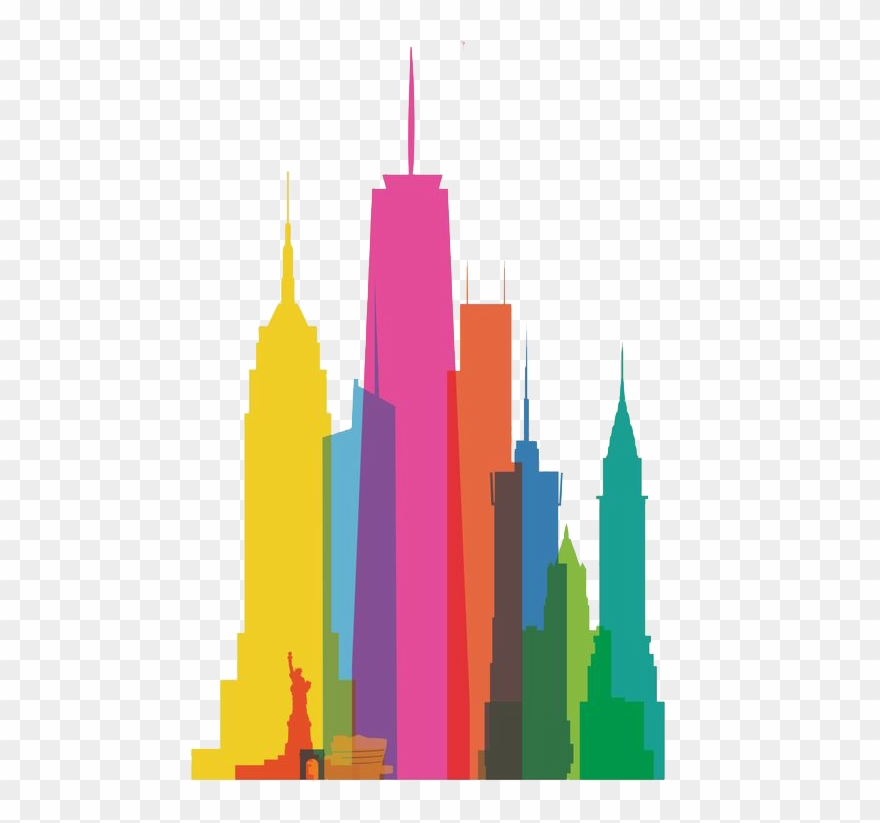 Clip Art Free Download New York City Skyline Clipart.