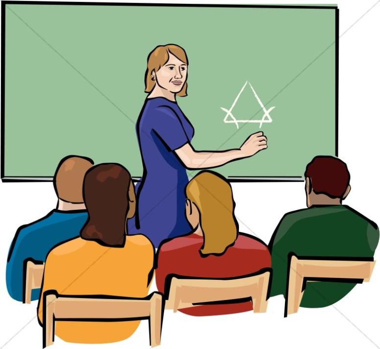 16523 Classroom free clipart.