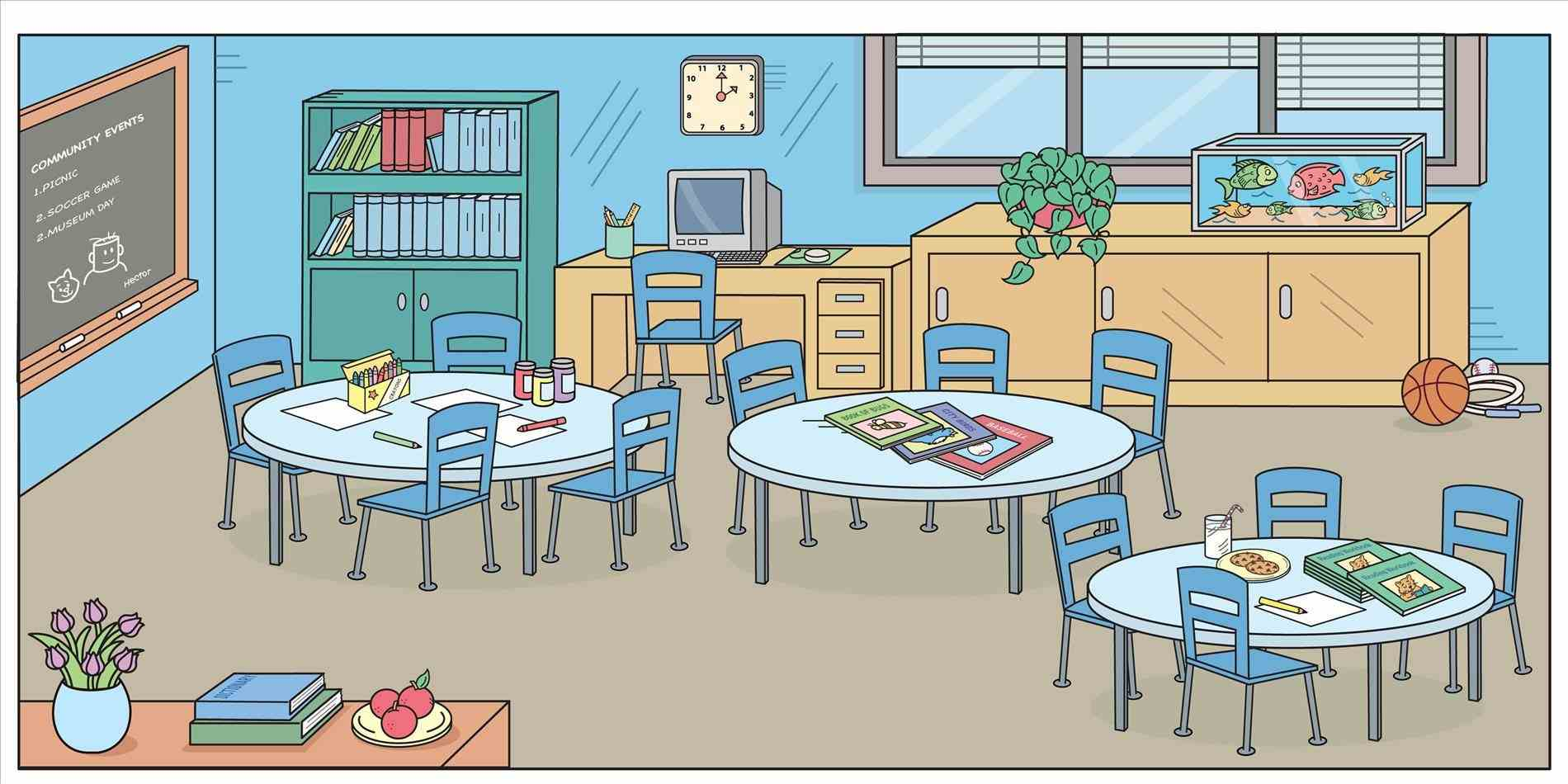 Free classroom clipart 7 » Clipart Station.