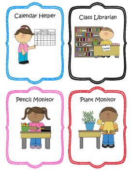 Free Classroom Jobs Worksheets & Teaching Resources.