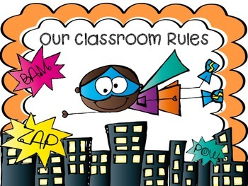 Classroom Rules Clipart.