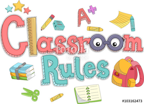 Classroom Rules Elements Text