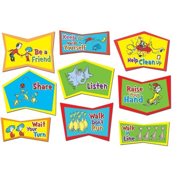Dr. Seuss Classroom Rules Bb Set.
