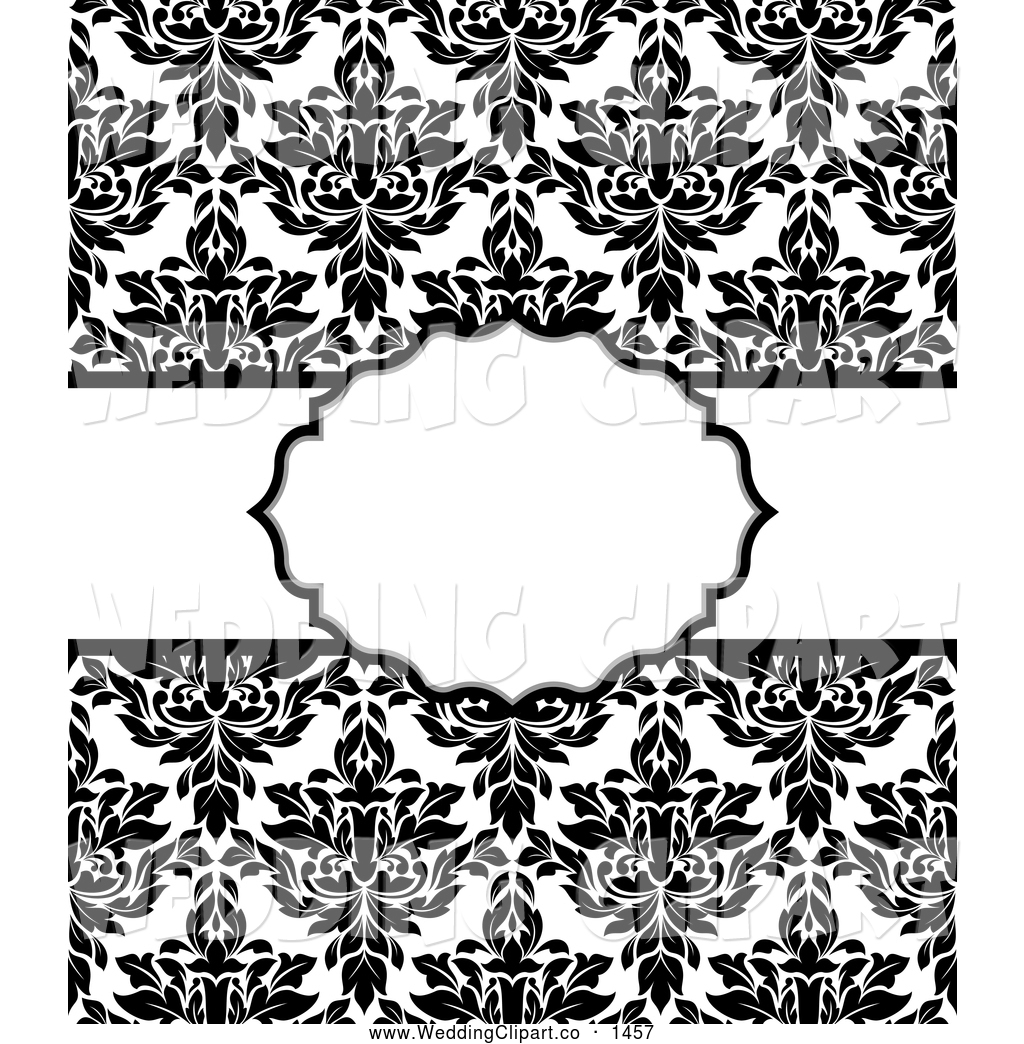 Classy Black And White Clipart.
