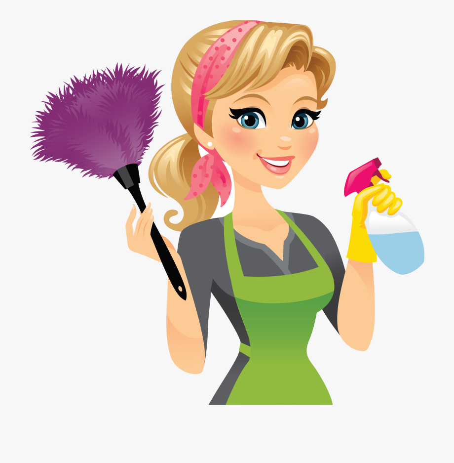 Cleaner Clipart Housekeeper.