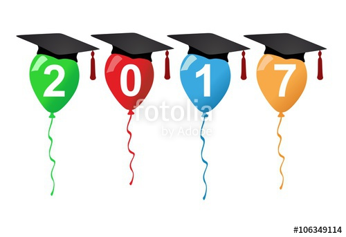 Graduation Party 2017 Stock Image And Royalty Free.