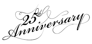 free 25th anniversary clip art.