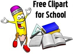 Free Clipart for Teachers and Students, Images for School.