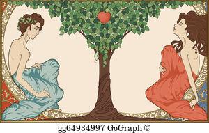 Adam Eve Clip Art.