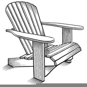 Adirondack Chair Drawing.