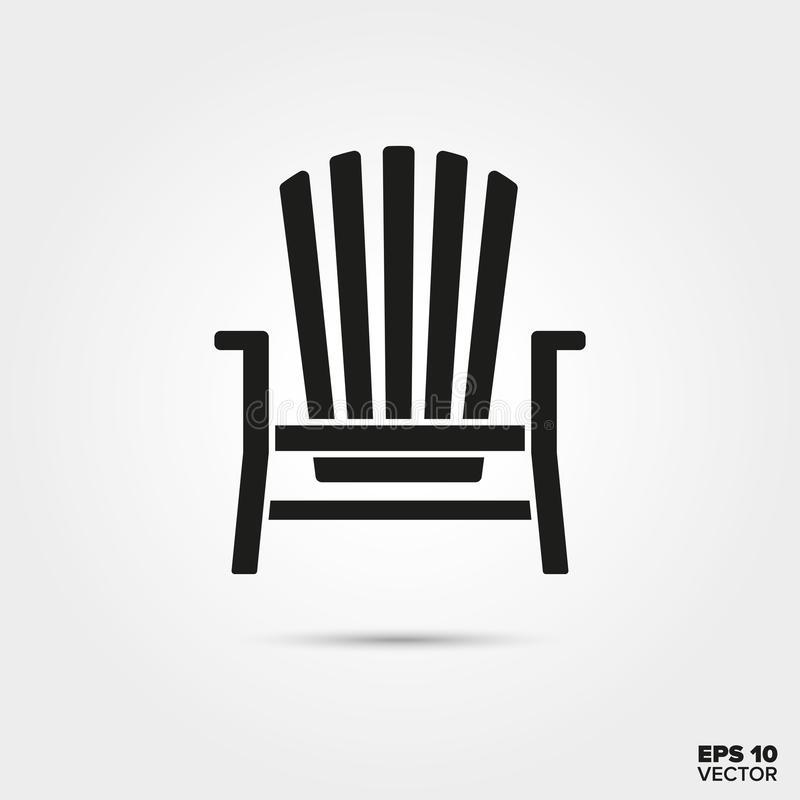 Adirondack Chair Stock Illustrations.
