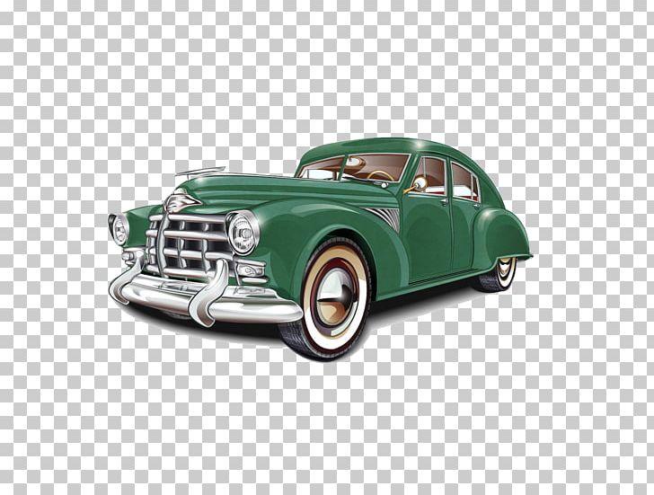 Vintage Car Retro Style Classic Car PNG, Clipart, Antique Car.