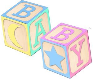 Baby Block Clipart Free.