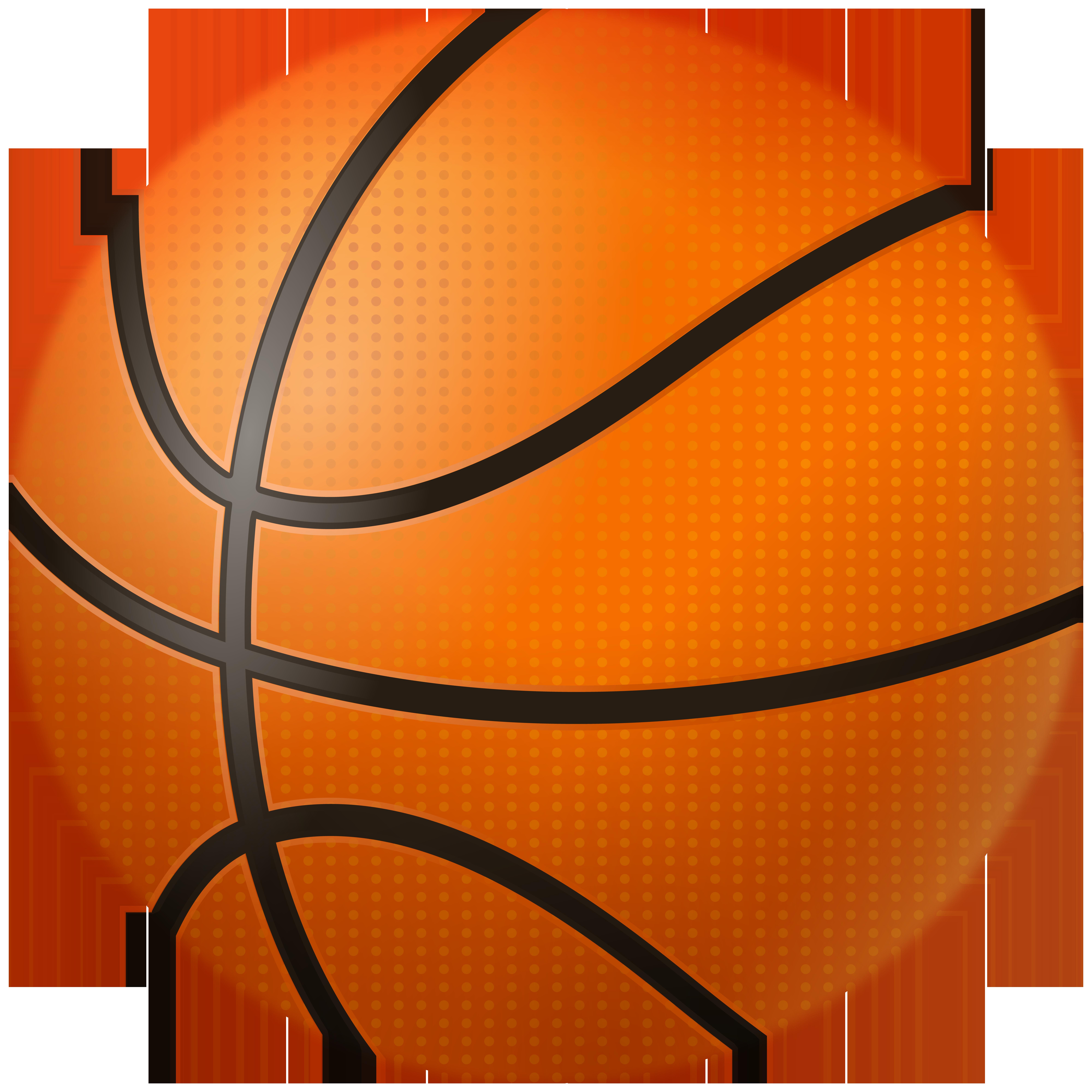 Basketball Ball Clipart Image.