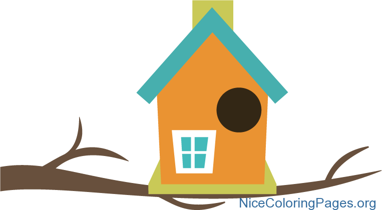 Cartoon bird houses clipart images gallery for free download.