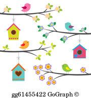 Birdhouse Clip Art.