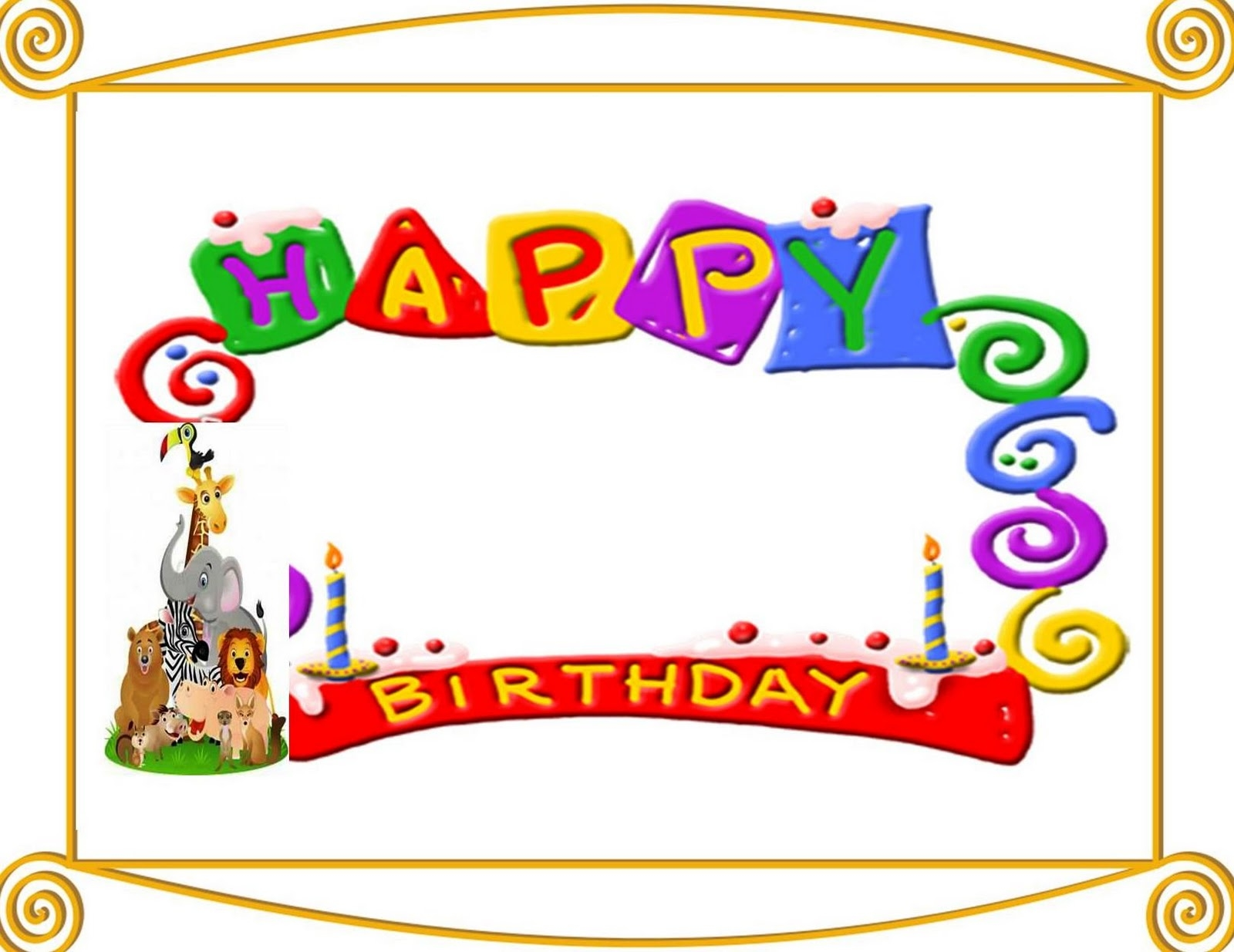 Free Birthday Card Cliparts, Download Free Clip Art, Free Clip Art.