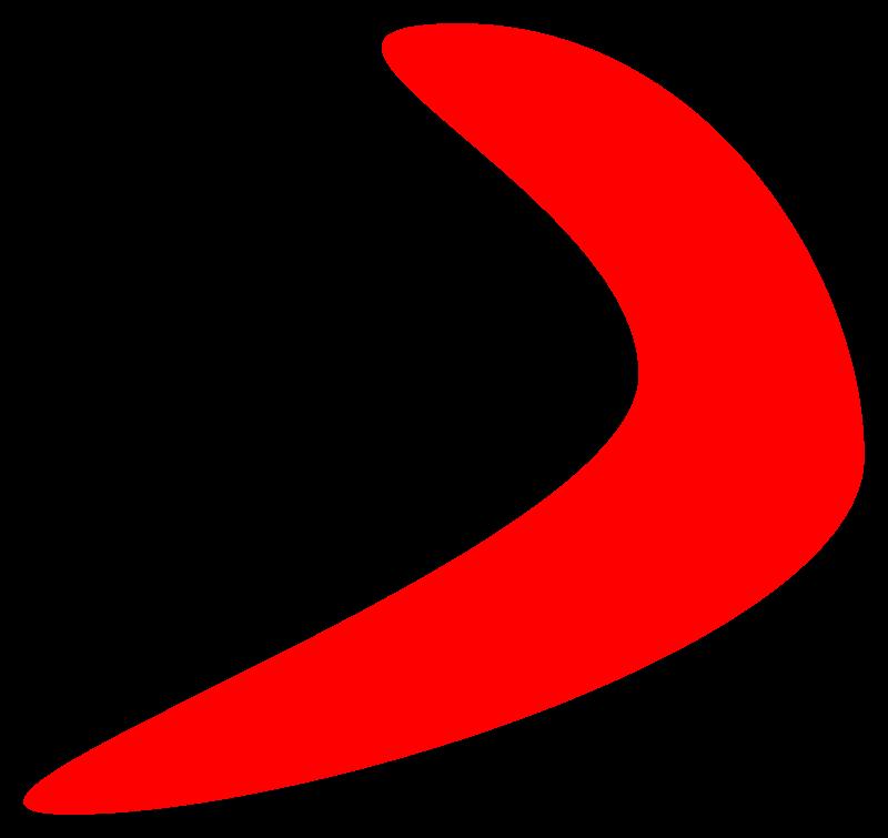 Free Clipart: Boomerang.