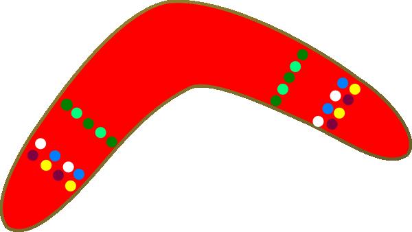 Boomerang Clip Art.