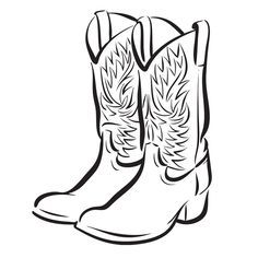 Cute cowboy boots clipart free clipart images cliparts and 2.