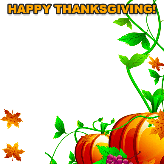 Fall Border Free Thanksgiving Borders Happy Clip Art Png 3.