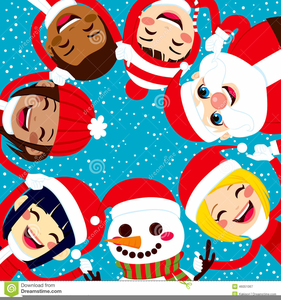 Free Clipart Of Carol Singers.