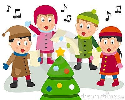Singing Clipart christmas carol 13.