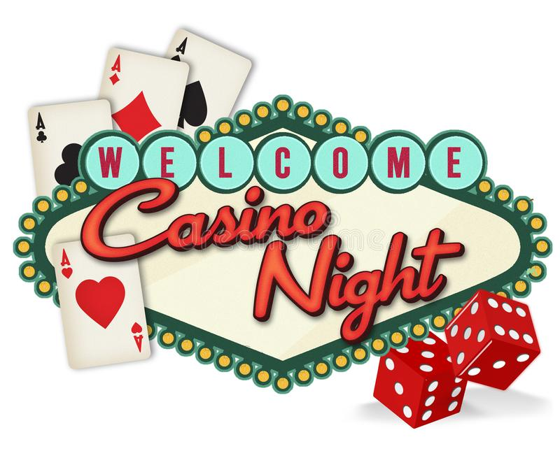 Casino Stock Illustrations.