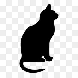 Free download Cat Silhouette Clip art.
