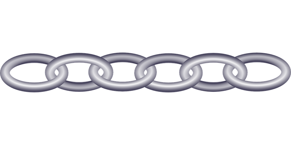 Chain Links Plastic.