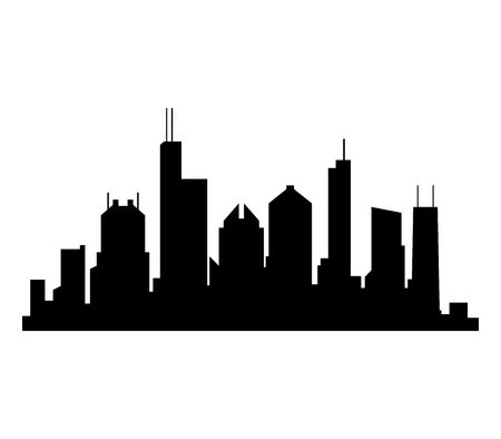 181 Chicago Skyline Vector Stock Illustrations, Cliparts And Royalty.