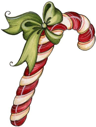 Christmas candy canes coloring page pictures and clip art images.