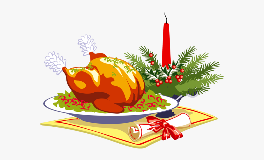 Christmas Dinner Clipart #39475.