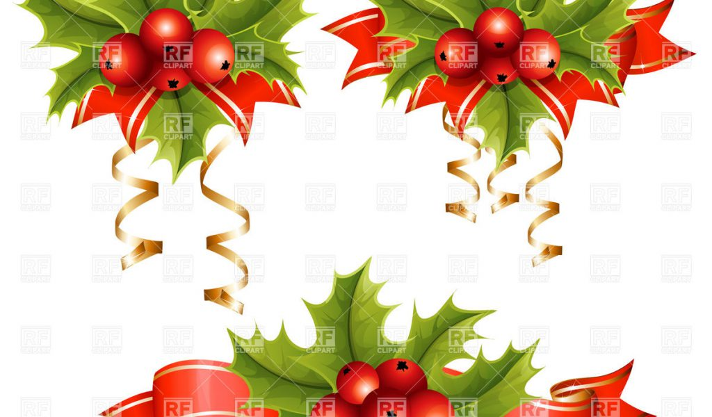 Clipart Christmas Holly Free Downloads.