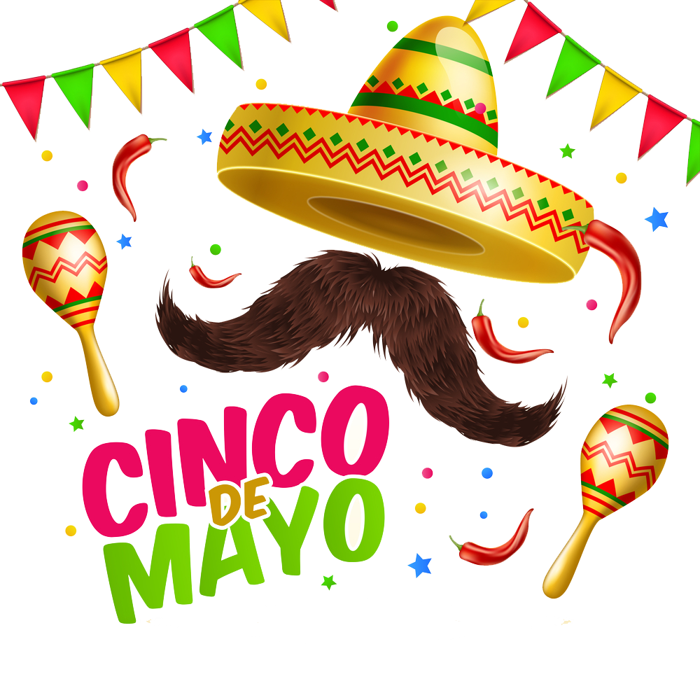 Cinco de mayo graphic clipart images gallery for free download.