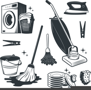 Free Clipart Cleaning Materials.
