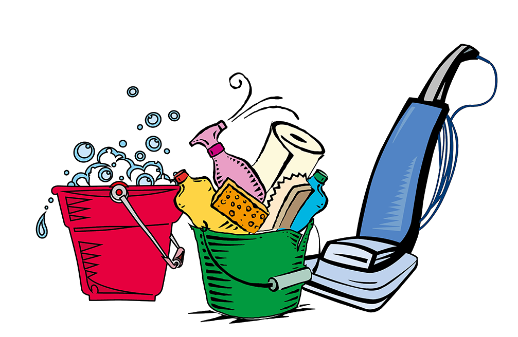 House Cleaning Supplies Png Free RR Collections Decent Clean Clipart.