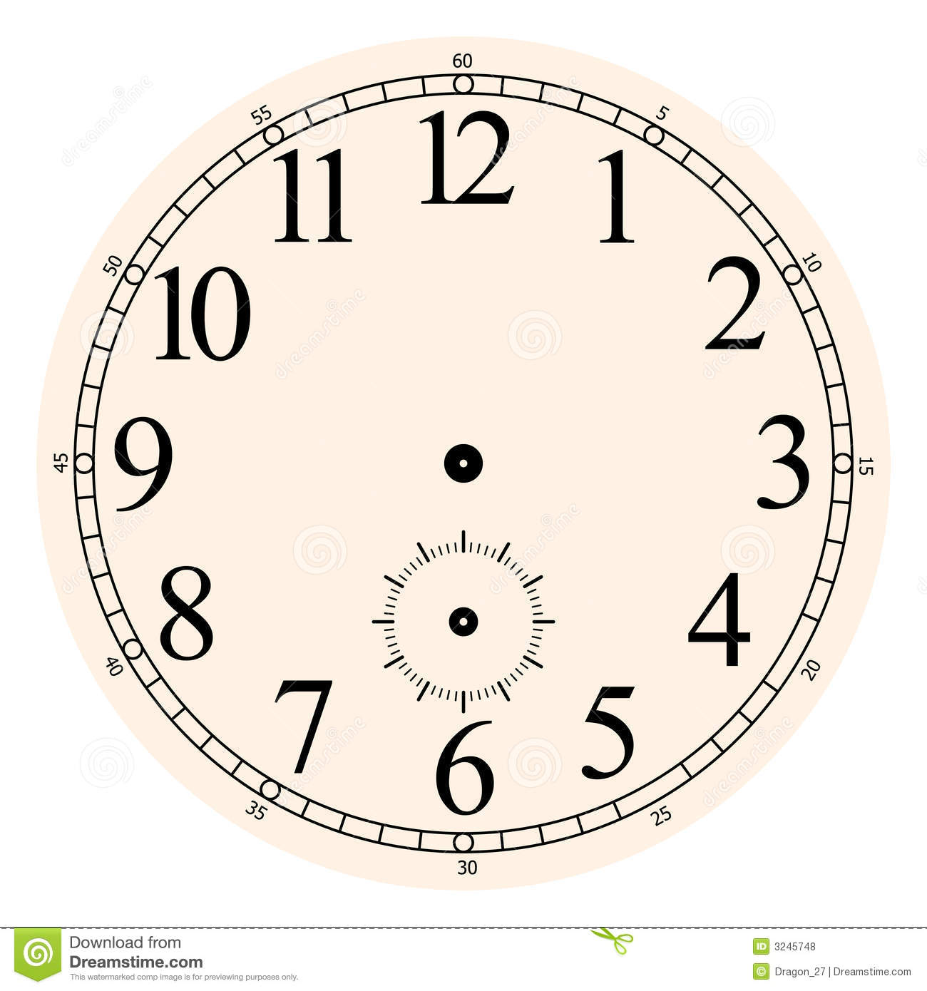 Clock face stock vector. Illustration of quartz, clock.