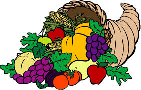 Free Thanksgiving Cornucopia Clipart.