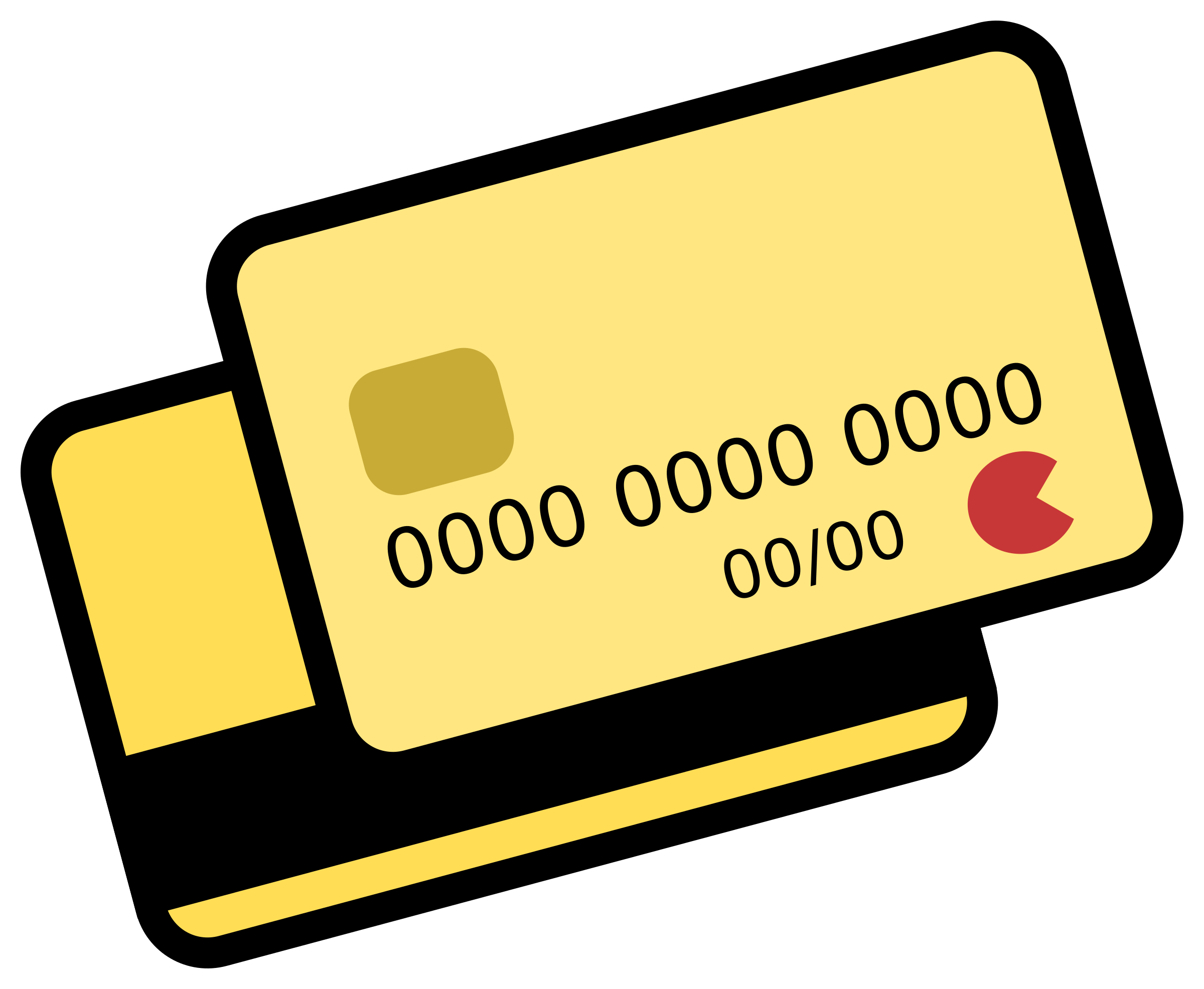 Credit Card Vector Graphics image.