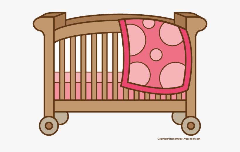 Crib Drawing Baby Bed.