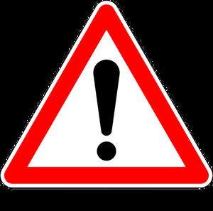 921 danger signs clip art free.