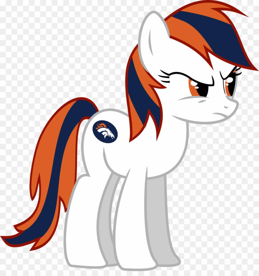 My Little Pony Denver Broncos PNG Denver Broncos Nfl Clipart.