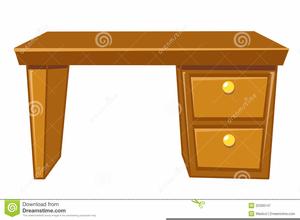 Free Clipart Teacher Desk.