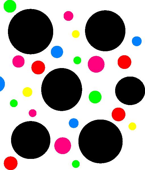 Light Blue Polka Dots Clip Art At Clker.com Vector Clip.