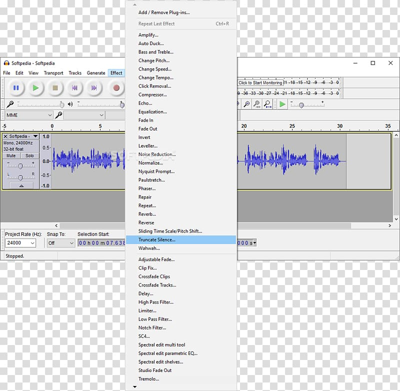 Audacity Audio editing software Computer Software Free software.