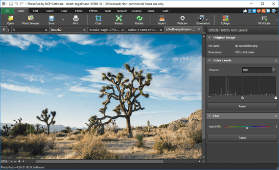 Photo Editor Software to Easily Edit Digital Images. Free Download.