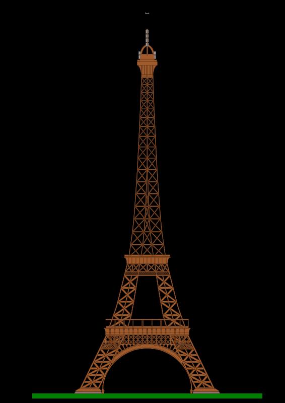 Free Clipart: Eiffel Tower (Paris).