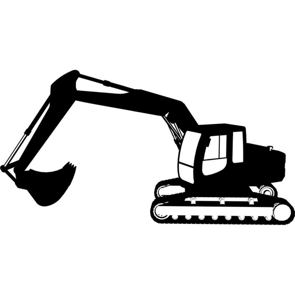 Excavator Clip Art N15 free image.