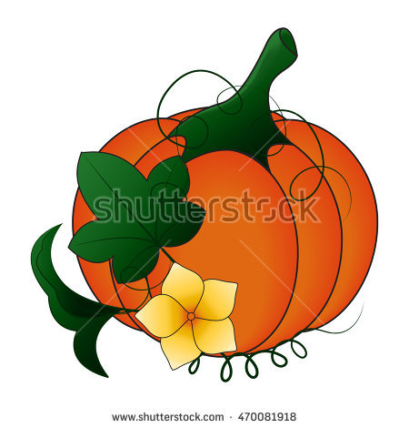 Showing post & media for Cartoon pumpkin and leaves.